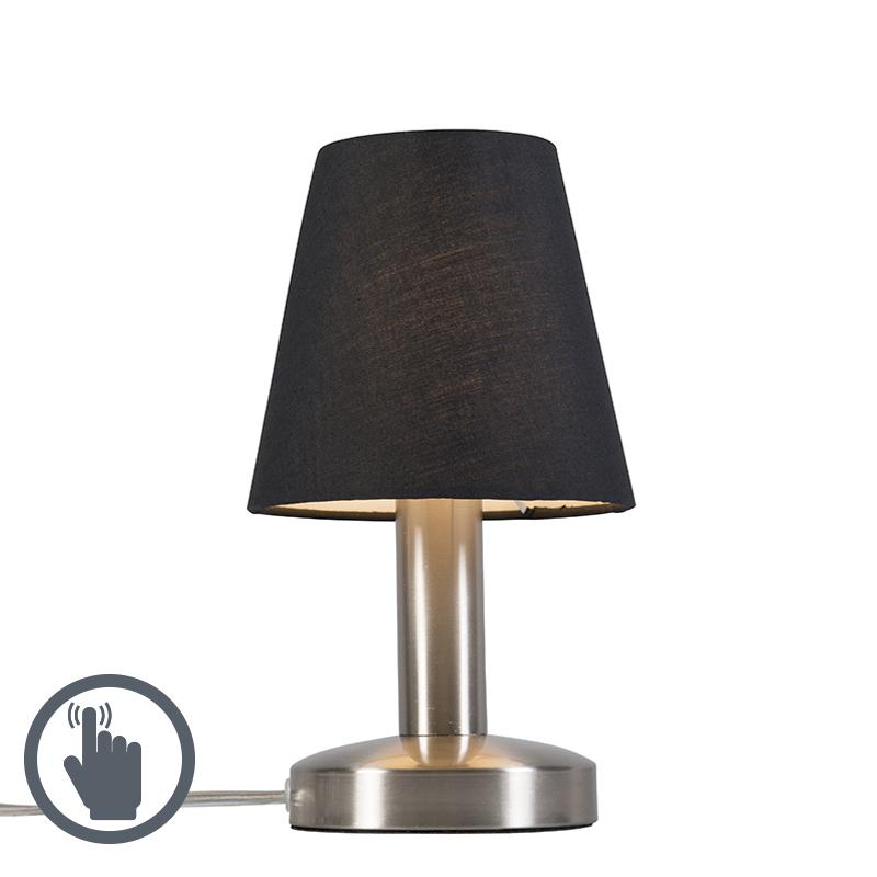 Tafellamp Bello zwart Touch