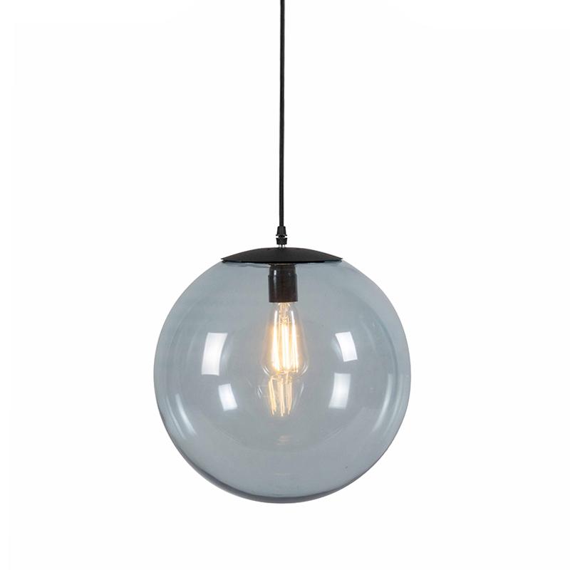 Nowoczesna lampa wisząca szara 35cm - Pallon