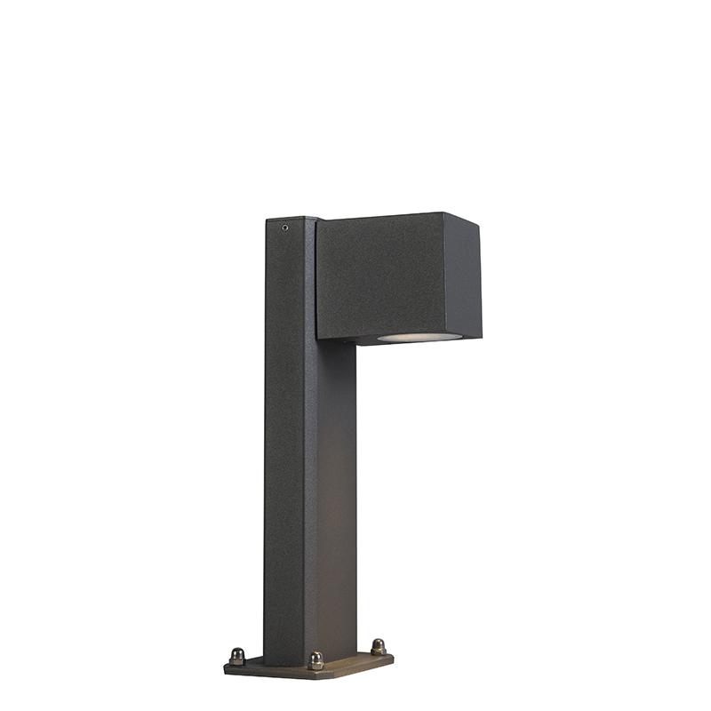 Przemysłowa lampa stojąca antracyt 30cm IP44 - Baleno