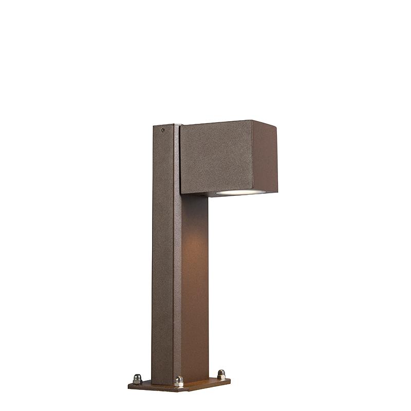 Przemysłowa lampa stojąca rdzawobrązowa 30cm IP44 - Baleno