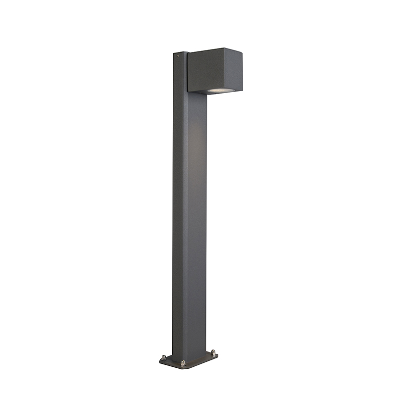 Industri�le staande buitenlamp antraciet 65 cm IP44 - Baleno