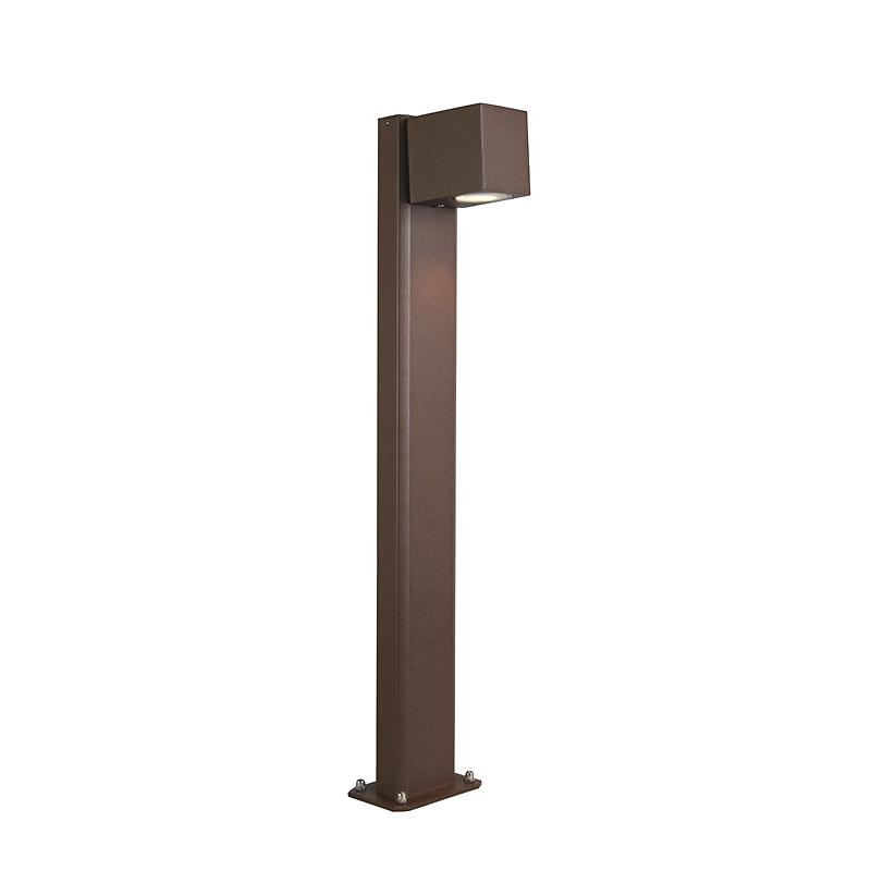 Przemysłowa lampa stojąca zewnętrzna rdzawobrązowa 65cm IP44 - Baleno