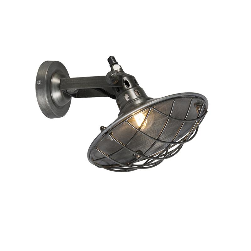 Wandlamp Stradt zink