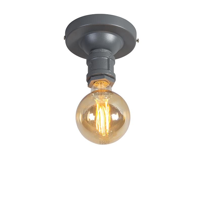 Przemysłowa lampa sufitowa ciemnoszary - hydraulik 1