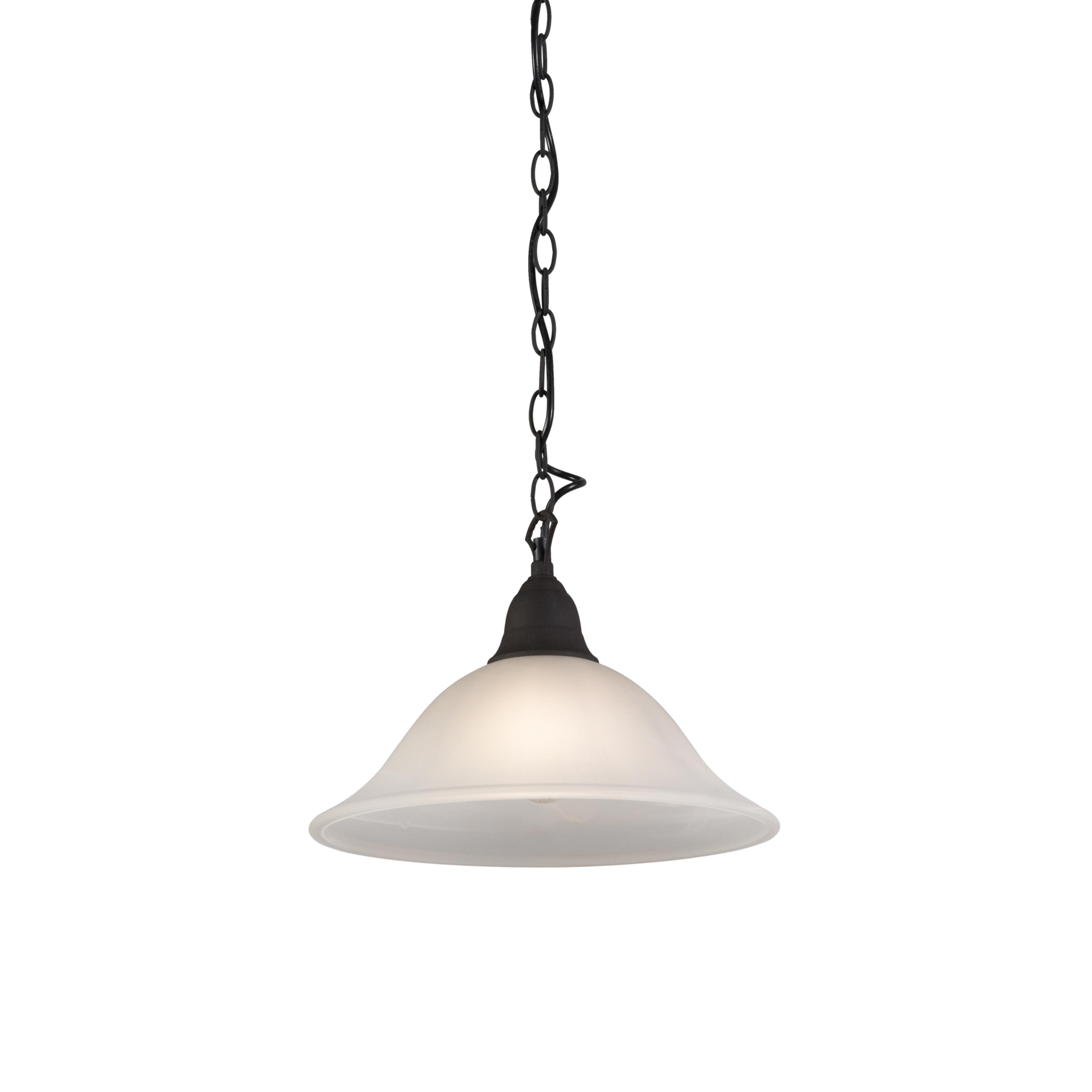 Hanglamp Dallas 1 roestbruin