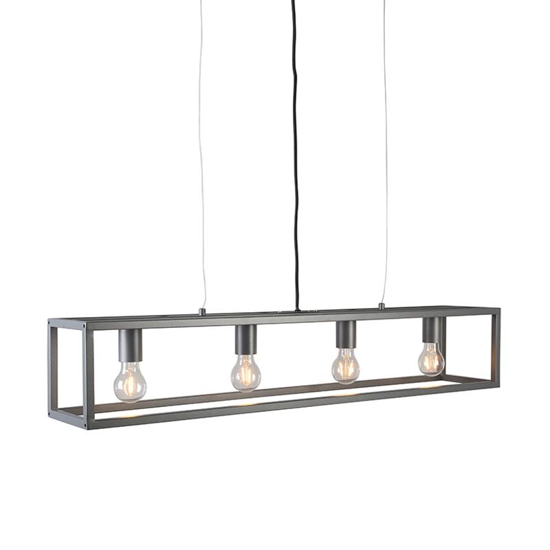 Moderne hanglamp antraciet - Cage 4