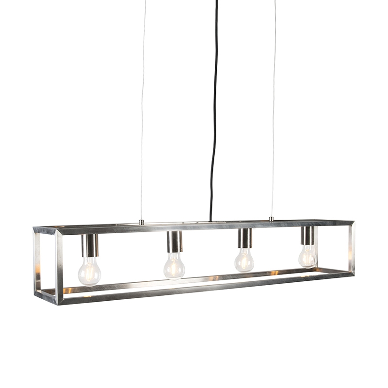 Hanglamp Cage 4 staal