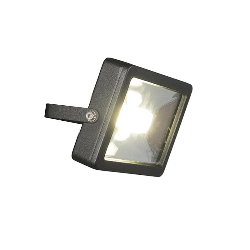Moderne straler zwart incl. LED 30W - Telix