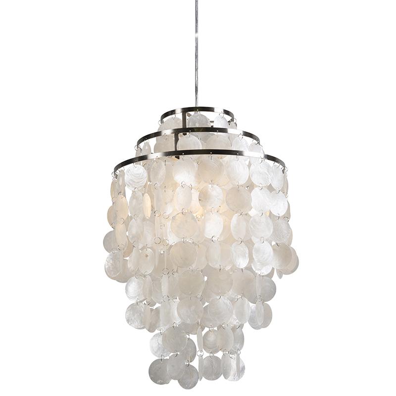 Hanglamp Flake wit