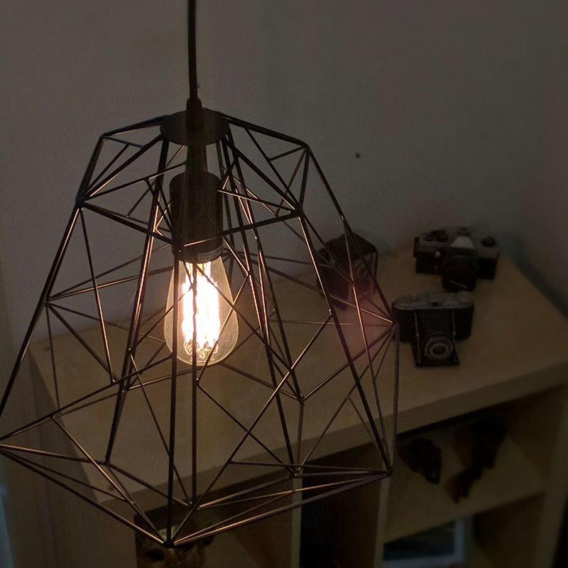 Industriële hanglamp zwart - Framework Basic
