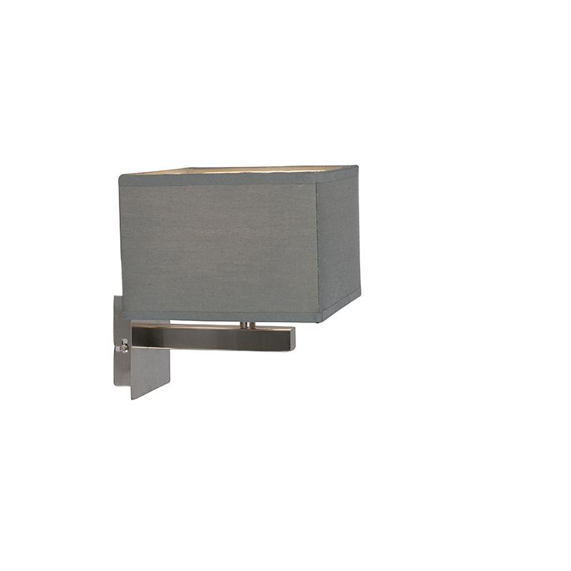 Moderne wandlamp grijs - VT 1