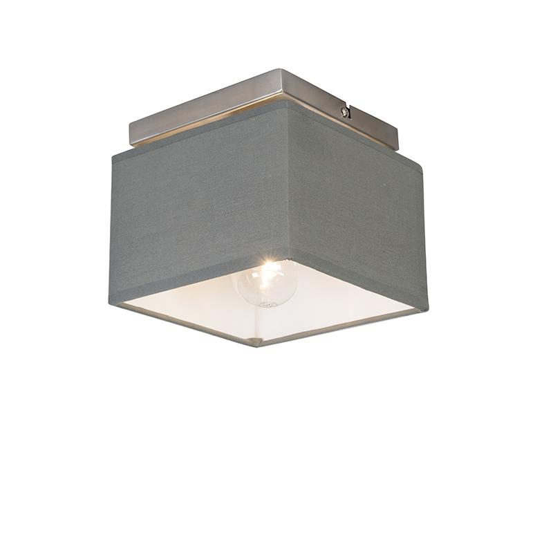 Moderne plafonnière grijs - VT 1