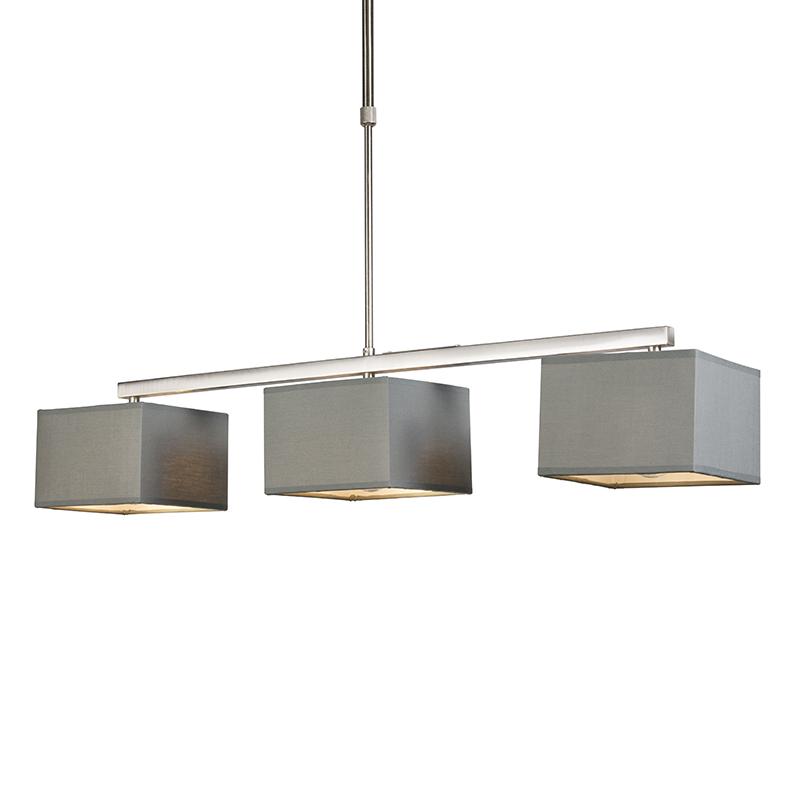 Hanglamp VT 3 grijs