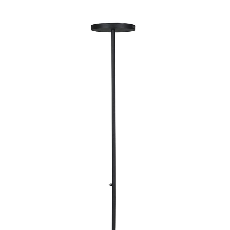 Vloerlamp Disco zwart