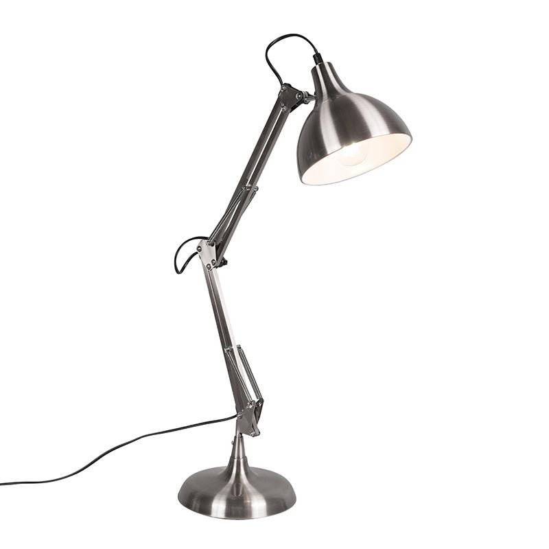Hobby tafellamp staal