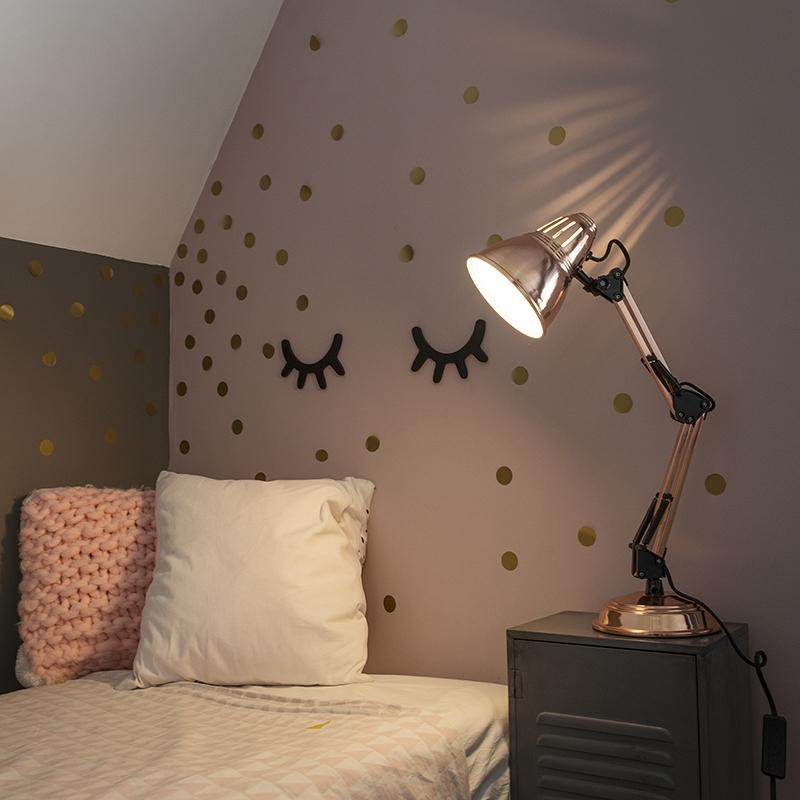 Tafellamp Buzz koper