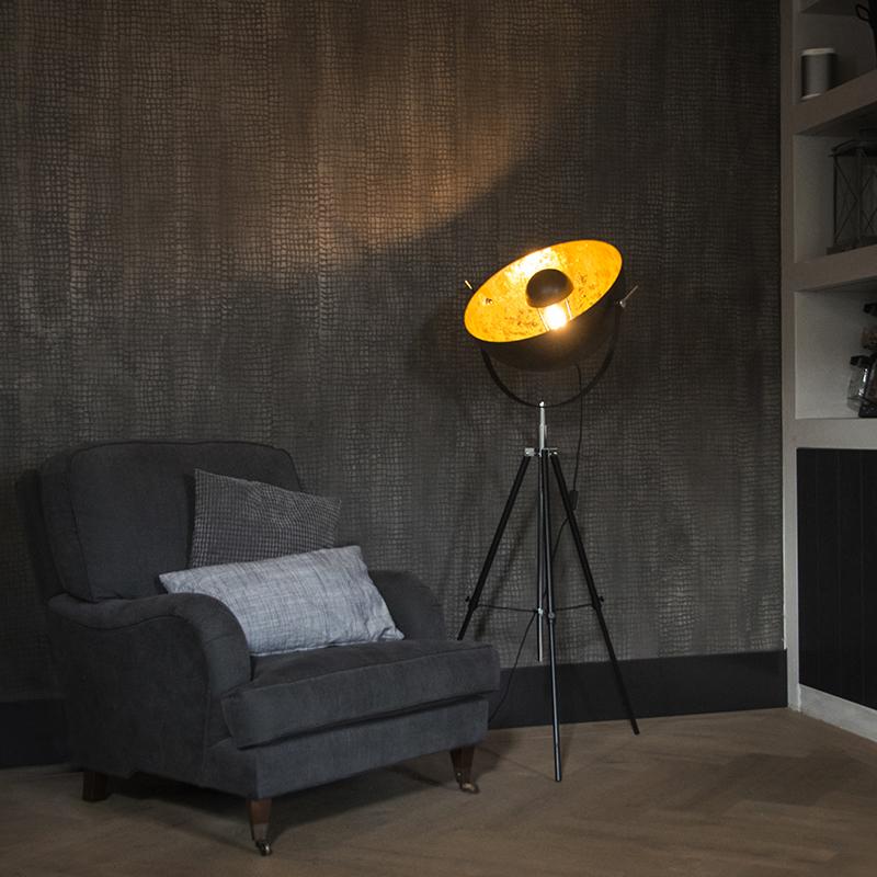 Vloerlamp Magna 50 mat zwart