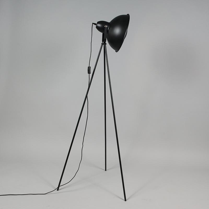 Vloerlamp Magna Basic 25 zwart met goud