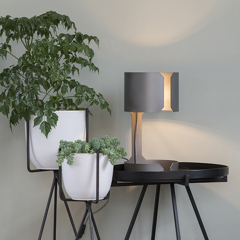 Tafellamp Waltz staal