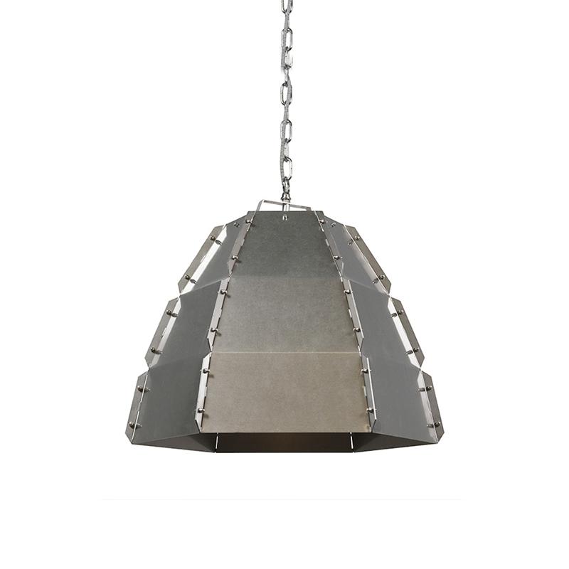 Designerska lampa wisząca stal - Niro