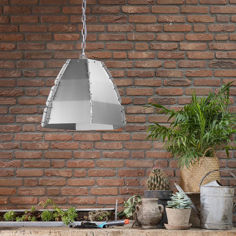 Hanglamp Niro blank staal