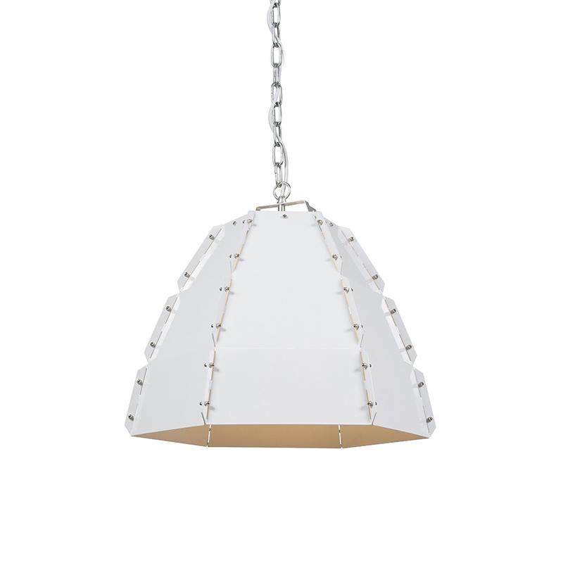 Designerska lampa wisząca biała - Niro