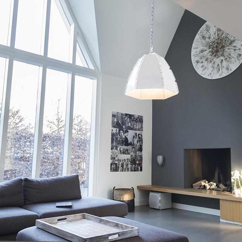 Hanglamp Niro blank wit
