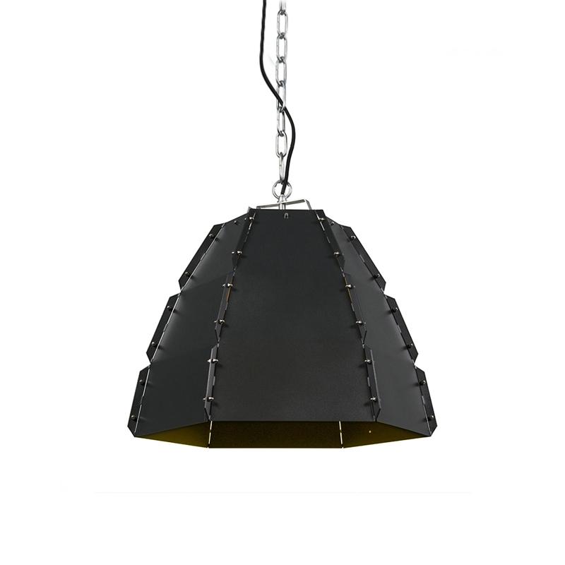 Hanglamp Niro blank zwart