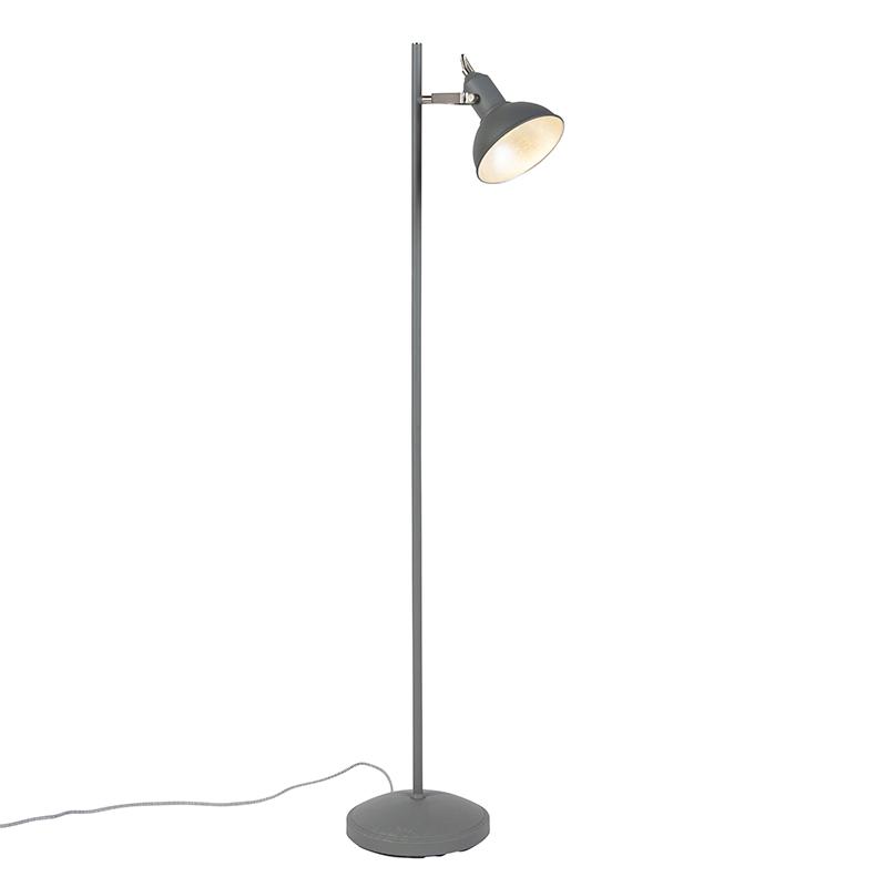 Nowoczesna lampa stojąca ciemnoszara - Tommy 1