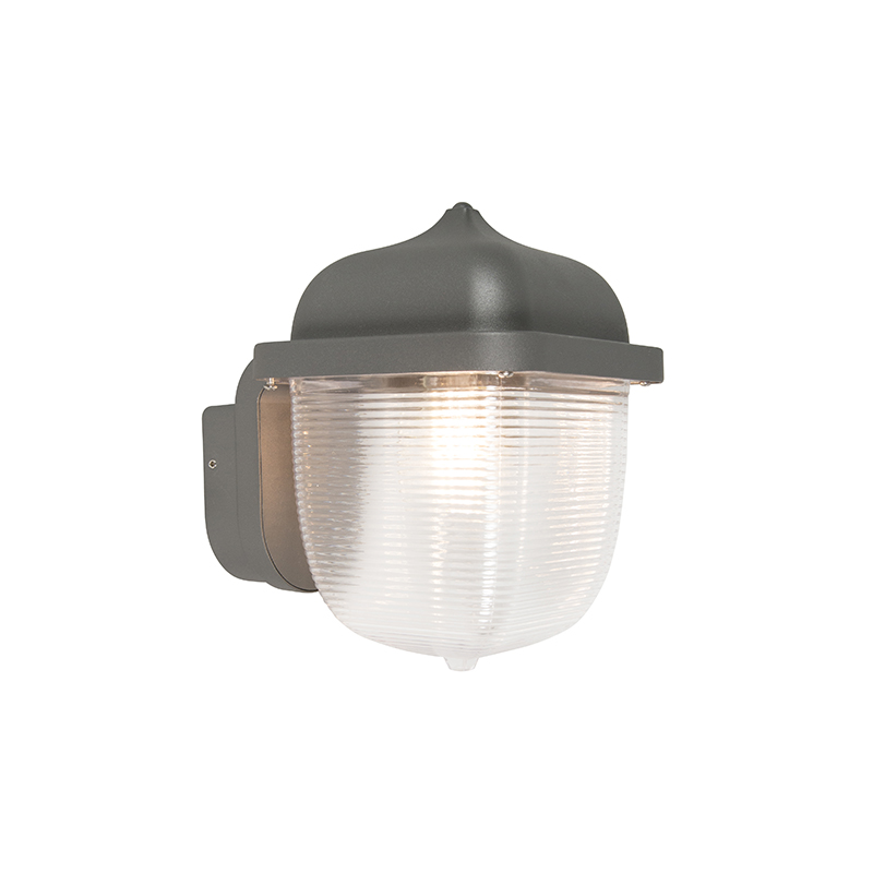 Wandlamp Trans donkergrijs