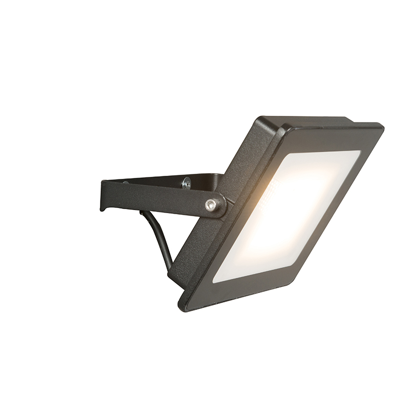 LED straler zwart 30W - Radius 1