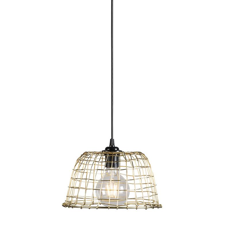 Hanglamp Basket 24 goud
