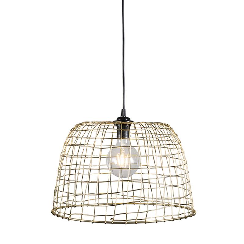 Hanglamp Basket 40 goud