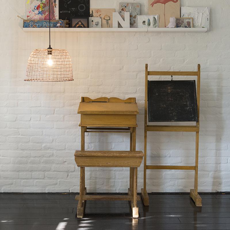 Hanglamp Basket 40 koper