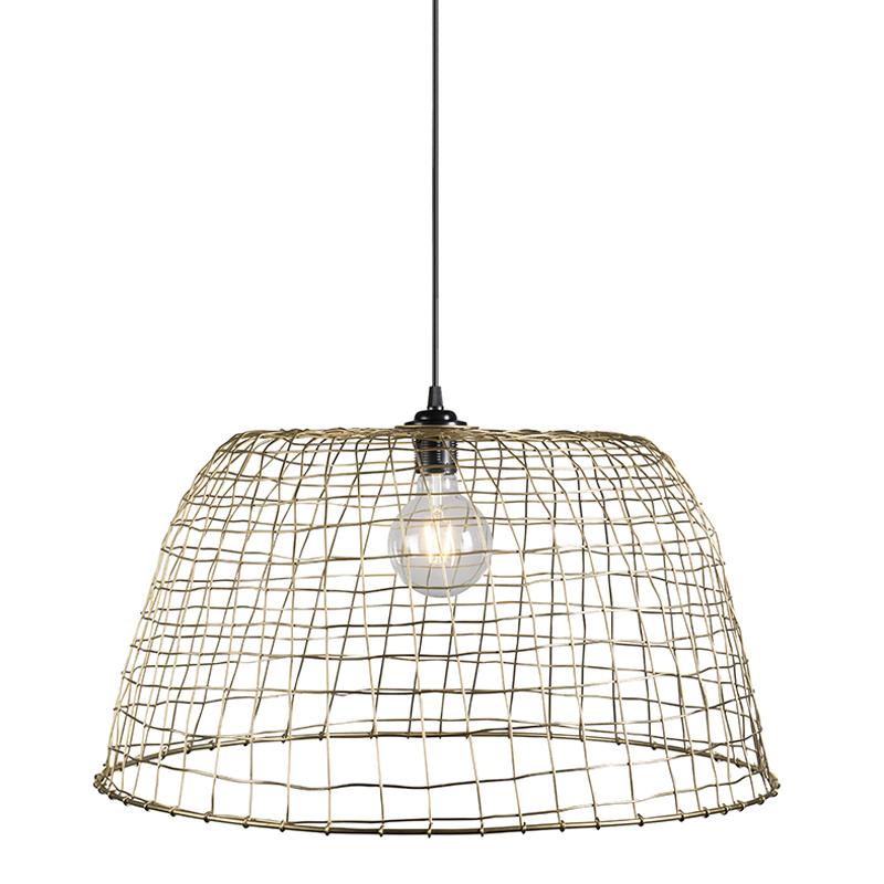Hanglamp Basket 60 goud