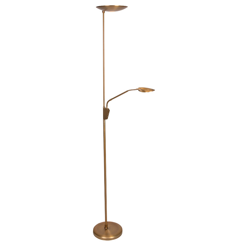 Steinhauer Vloerlamp Safira LED brons