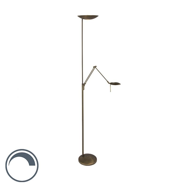 Lampa podłogowa Carpe Diem 2 brąz