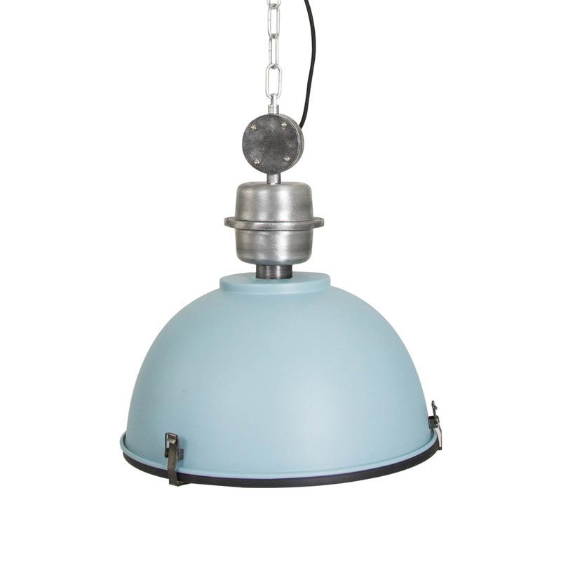 Steinhauer Hanglamp bikkel 42 cm blauw