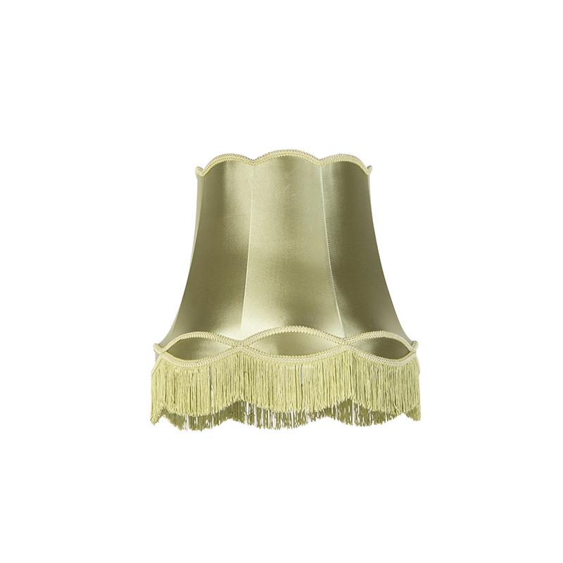 Zijde lampenkap groen 45 cm - Granny