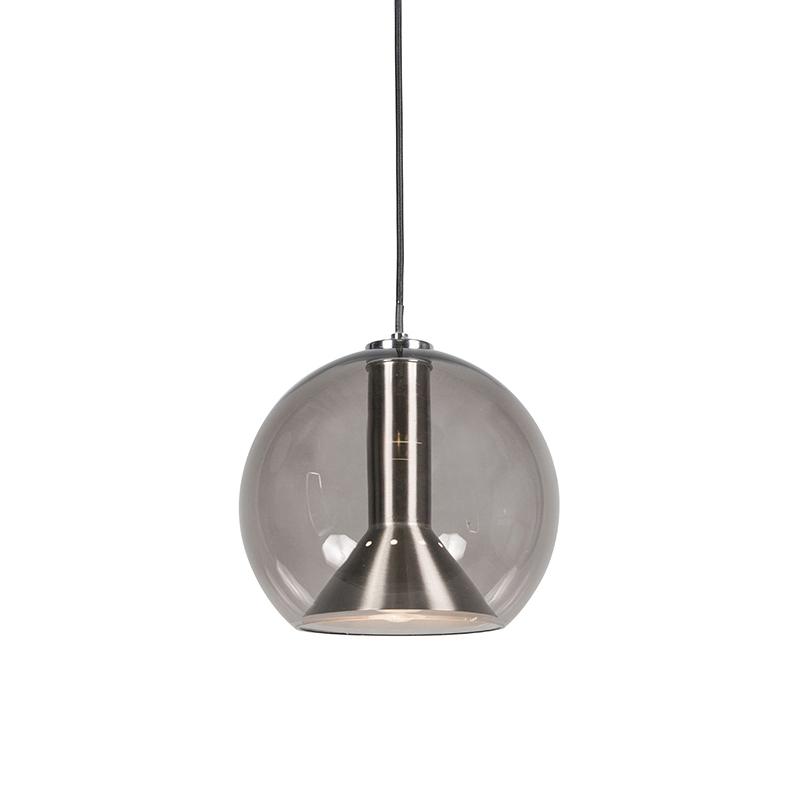 Lampa wisząca retro czarna - Strike small