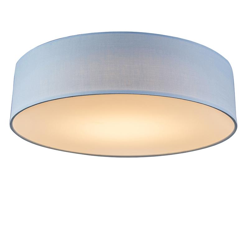 Plafonniere Drum LED 40 blauw