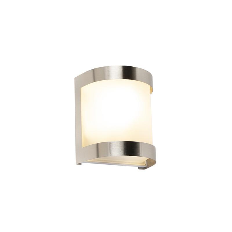 Wandlamp Mira RVS