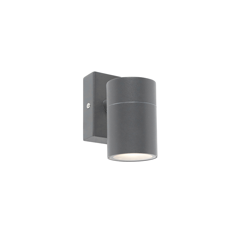 Buitenwandlamp antraciet IP44 - Solo