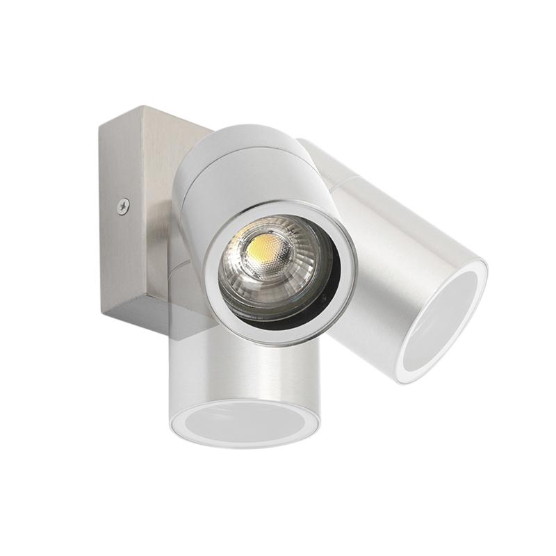 Buitenwandlamp Staal Verstelbaar - Solo