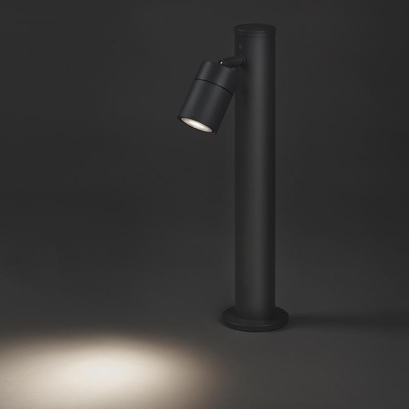 Buitenlamp Solo donker grijs verstelbaar 45
