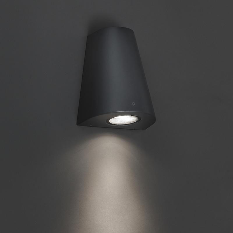 Wandlamp Dreamy donker grijs