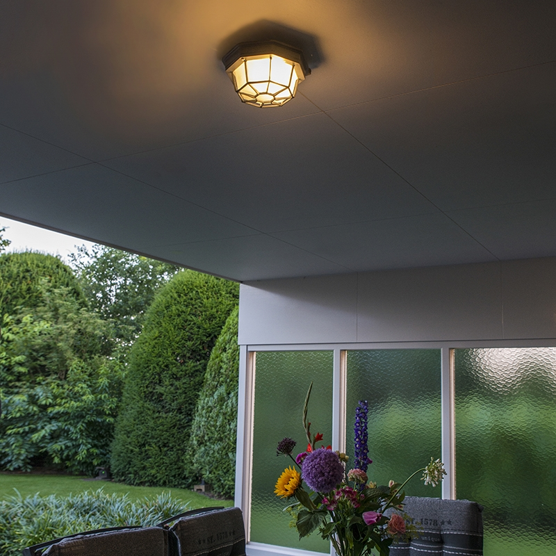 Plafondlamp Bri Donkergrijs