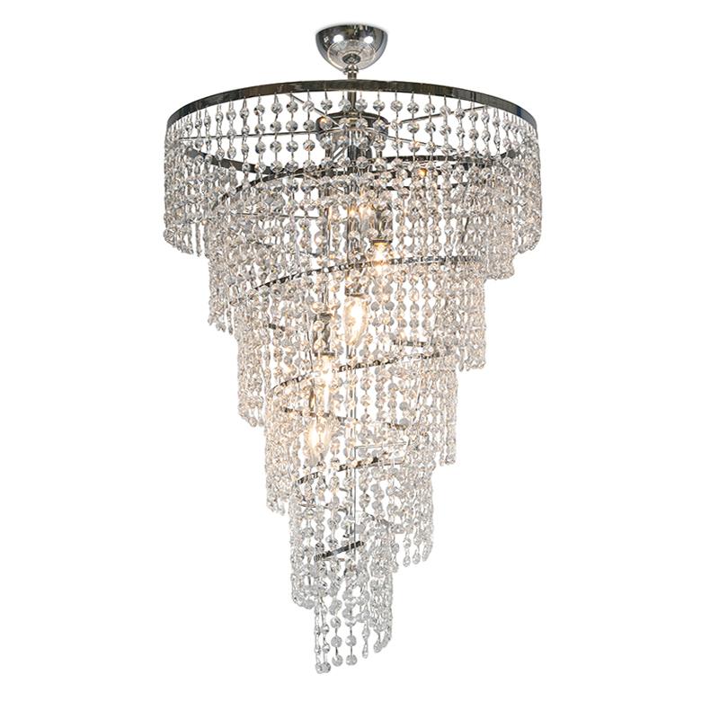 Hanglamp Daria 50 chroom