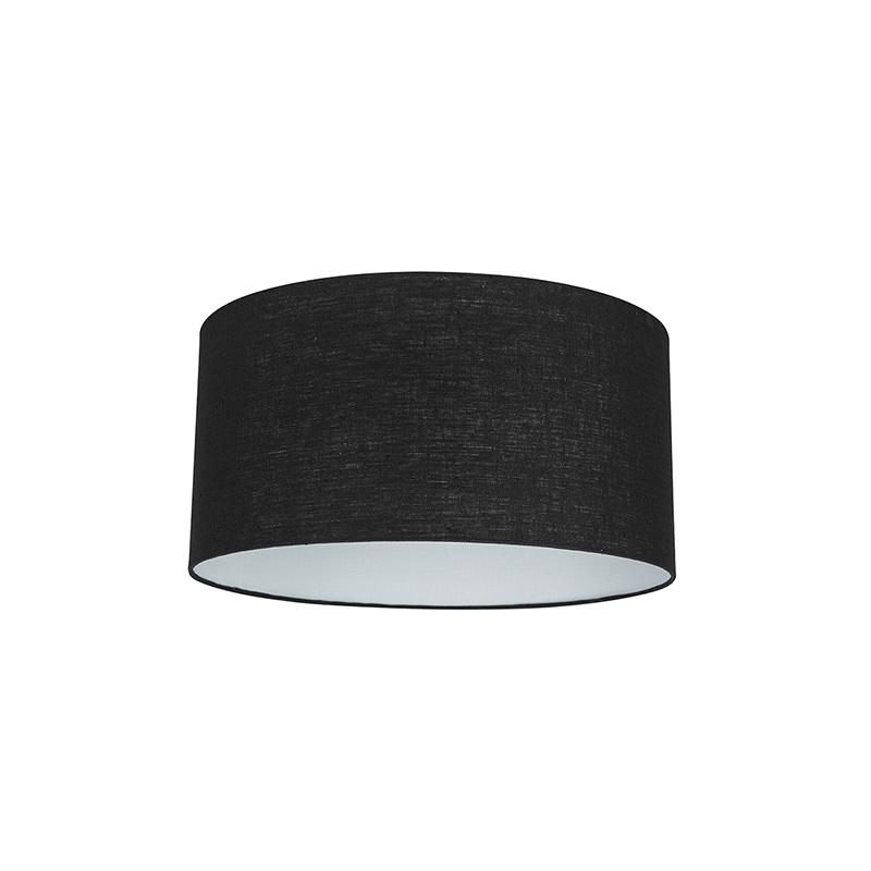 Stoffen lampenkap zwart 50/50/25