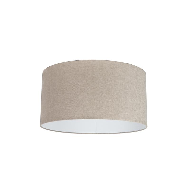 Stoffen lampenkap lichtbruin 50/50/25